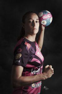 Camille Ayglon handball nah ©sarah scaniglia photographe Nantes