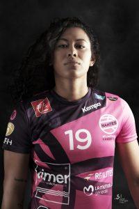 Elaine Gomes Handball ©sarah scaniglia photographe Nantes